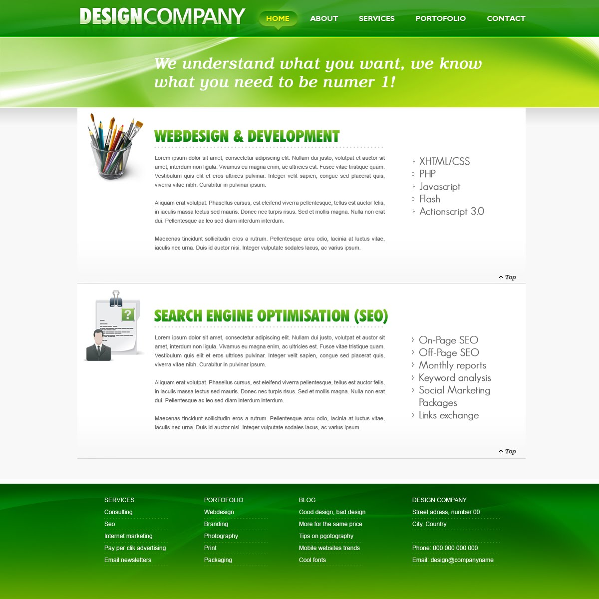 Design template2
